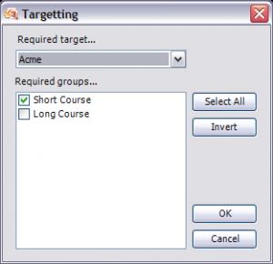 Targeting Editor